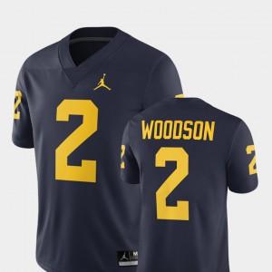 2018 #2 Alumni Football Game Men Charles Woodson Michigan Jersey Navy 780865-126