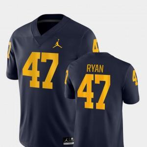 Navy Game Men Jake Ryan Michigan Jersey College Football #47 515394-473