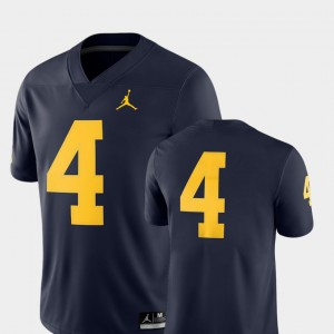 2018 Game College Football Navy Michigan Jersey #4 Mens 584636-280