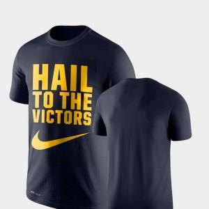Legend Franchise Performance Men's Navy Michigan T-Shirt 308567-390