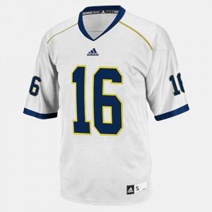 White Denard Robinson Michigan Jersey #16 College Football For Men's 163901-687